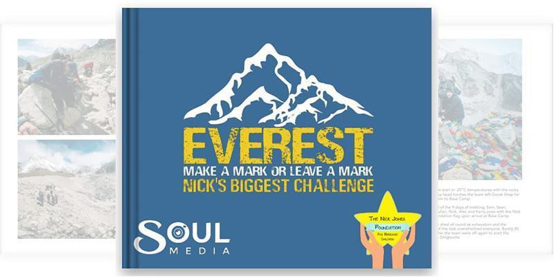 Everest - Nick's Biggest Challenge - Photo Book Now Available